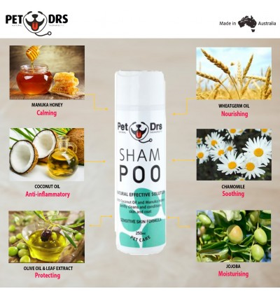 Pet Drs Sham POO 250ml